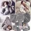 หมอนช้าง ตุ๊กตาช้าง เนื้อนุ่ม ขนไม่ร่วง >>ส่งฟรีลงทะเบียน thumbnail 9