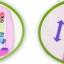 กระดานไวท์บอร์ดของเด็ก ปรับระดับได้ สีชมพู thumbnail 3