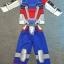 Gundam (งานลิขสิทธิ์) ชุดแฟนซีเด็กกันดั้ม ชุดมี 3 ชิ้น เสื้อ กางเกง และหน้ากาก ให้คุณหนูๆ ได้ใส่ตามจิตนาการ ผ้ามัน Polyester ใส่สบายค่ะ หรือจะใส่เป็นชุดนอนก็ได้ค่ะ size S, M, L, XL thumbnail 1