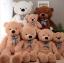 ตุ๊กตาหมีตัวใหญ่ขนาด 160 cm สีชมพู สีขาว สีน้ำตาลอ่อน สีน้ำตาลเข้ม thumbnail 1