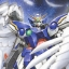 MG (028) 1/100 Wing Gundam Zero Custom / Wing Fighter Zero thumbnail 1