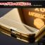 (025-132)เคสมือถือซัมซุง Case Mega 5.8 เคสกรอบโลหะพื้นหลังอะคริลิคเคลือบเงาทองคำ 24K thumbnail 5