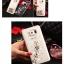 (พร้อมส่ง)เคสมือถือซัมซุง Case Note5 เคสพลาสติกแข็งใสประดับคริสตัลลายสวยๆ สไตล์ 3D thumbnail 5