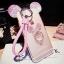 (497-003)เคสมือถือ Case OPPO F1 Plus (R9) เคสนิ่มหูกระต่าย 3D ประดับเพชรแหวนมิกกี้เมาส์ thumbnail 9