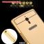 (396-001)เคสมือถือ OPPO X9007 Find 7 เคสกรอบโลหะพื้นหลังอะคริลิคเคลือบเงาทองคำ 24K thumbnail 6