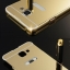 (025-118)เคสมือถือซัมซุง Case Samsung A9 Pro เคสกรอบโลหะพื้นหลังอะคริลิคแวววับคล้ายกระจกสวยหรู thumbnail 2