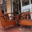 ชุดเก้าอี้รถถังแขนโค้ง ขาเหลาหุ้มปลอกทองเหลือง รหัส11457cw thumbnail 4