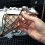 (442-018)เคสมือถือ Case OPPO R7s เคสนิ่มใสขอบชุบแววลายโมเสคแก้ว thumbnail 5
