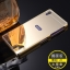 (025-112)เคสมือถือโซนี่ Case Sony Xperia Z1 เคสกรอบโลหะพื้นหลังอะคริลิคแวววับคล้ายกระจกสวยหรู thumbnail 6