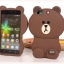 (013-006)เคสมือถือ Case Huawei Honor 4C/ALek 3G Plus (G Play Mini) เคสนิ่มตัวการ์ตูนกระต่ายและหมี 3D thumbnail 7