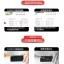 (039-061)ฟิล์มกระจก Huawei MediaPad X2 รุ่นปรับปรุงนิรภัยเมมเบรนกันรอยขูดขีดกันน้ำกันรอยนิ้วมือ 9H HD 2.5D ขอบโค้ง thumbnail 6