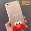 (151-170)เคสมือถือไอโฟน case iphone 5/5s Soft Case เทกเจอร์ผ้าไหม Cookie Monster thumbnail 5