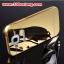 (025-132)เคสมือถือซัมซุง Case Mega 5.8 เคสกรอบโลหะพื้นหลังอะคริลิคเคลือบเงาทองคำ 24K thumbnail 1