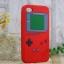 เคสไอโฟน 4/4s (ซิลิโคน) Game Boy สีแดง thumbnail 1