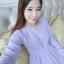 เดรสสั้นเกาหลี สไตล์หน้าหนาว อบอุ่นสบายด้วยเนื้อผ้าถักอย่างดี thumbnail 7