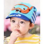 [สีฟ้า] หมวกแก๊ปพี่หมีดำน้ำ