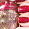 Skinfood Nail Vita Alpha #AGL17 สีแดงวาวมีกลิตเตอร์