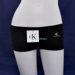 กางเกงในผู้หญิง Calvin Klein สีดำ แบบเต็มตัวมี logo Calvin Klein ด้านหน้า