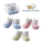 ถุงเท้าแรกเกิด Luvable Friends