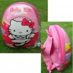 พร้อมส่งค่ะ กระเป๋าน่ารักๆ Hello Kitty ขนาด 24x15x32 ซม. เหลือ 5 ใบ
