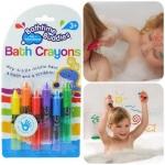 1206 -- สีสำหรับเด็ก เขียนแล้วลบได้ Bath Crayon