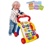 รถผลักเดินดนตรี Music Baby Walker 2in1