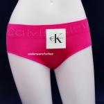 กางเกงในผู้หญิง CK สีบานเย็นขอบใหญ่ ปักหมุด