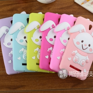 OPPO Find Way S -Rabbit Silicone Case[Pre-Order]